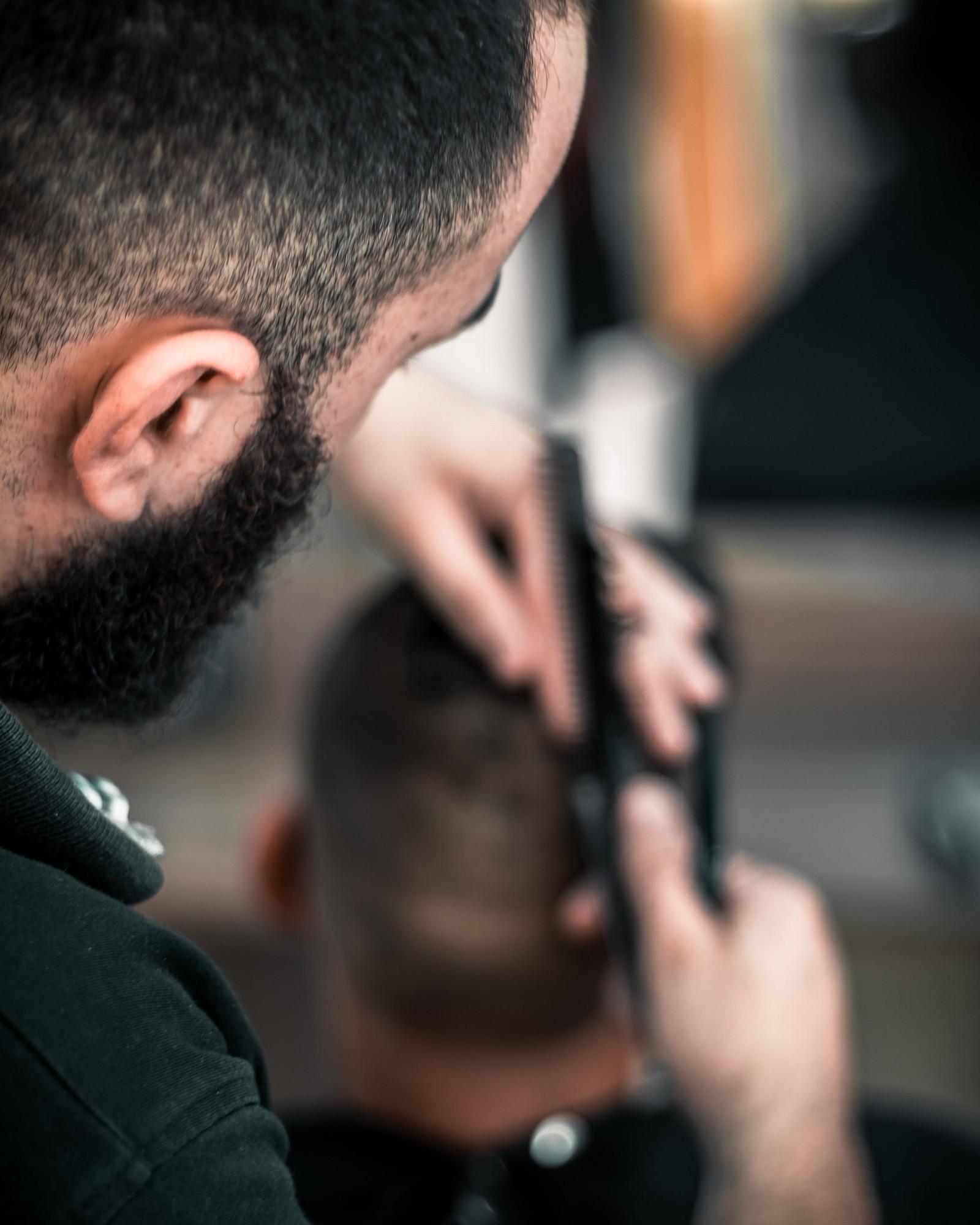 Haircut men for curly hair