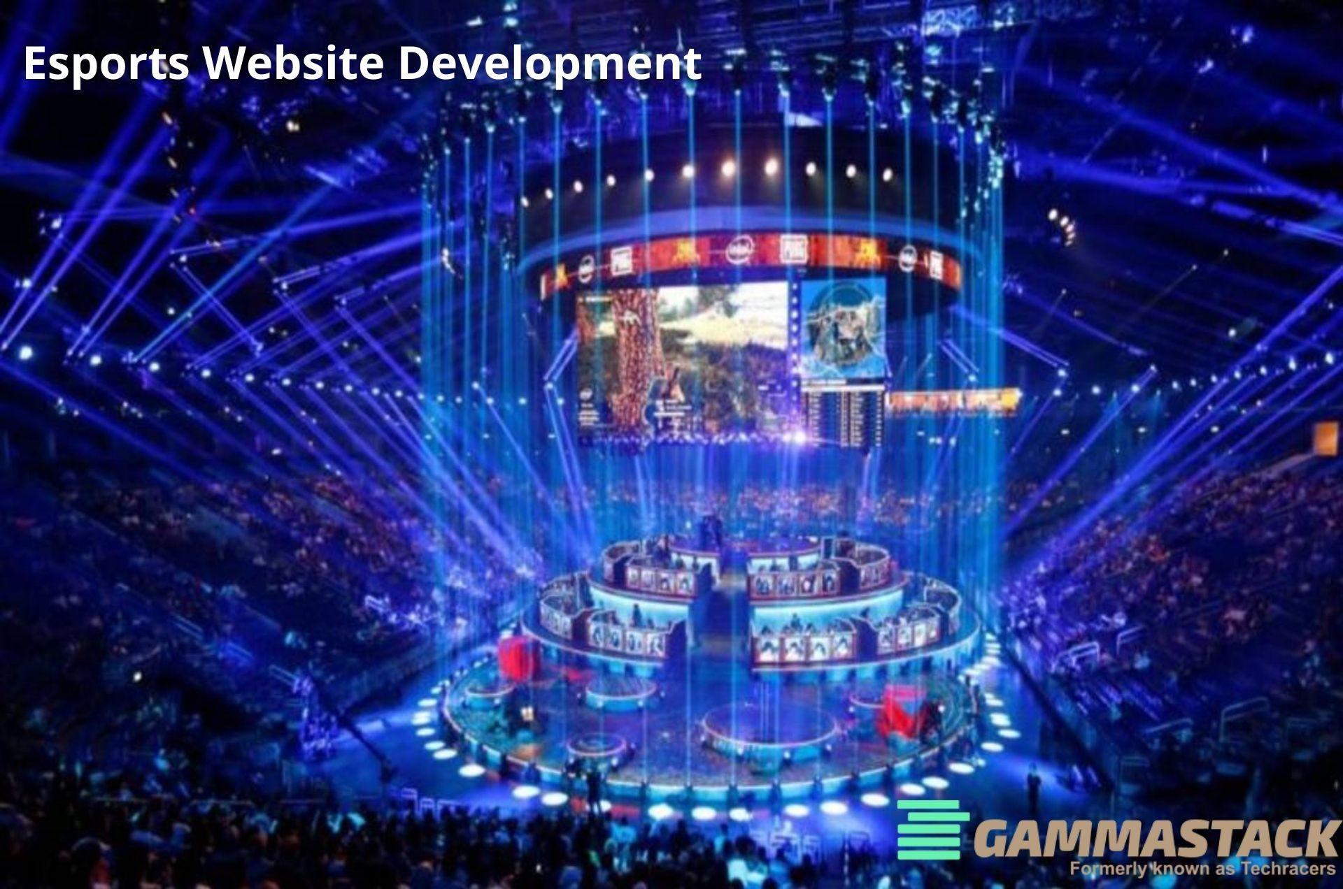 Esports Website Development