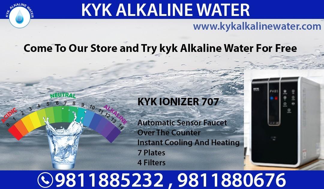 Get Health Benefit With KYK Alkaline Water Machine