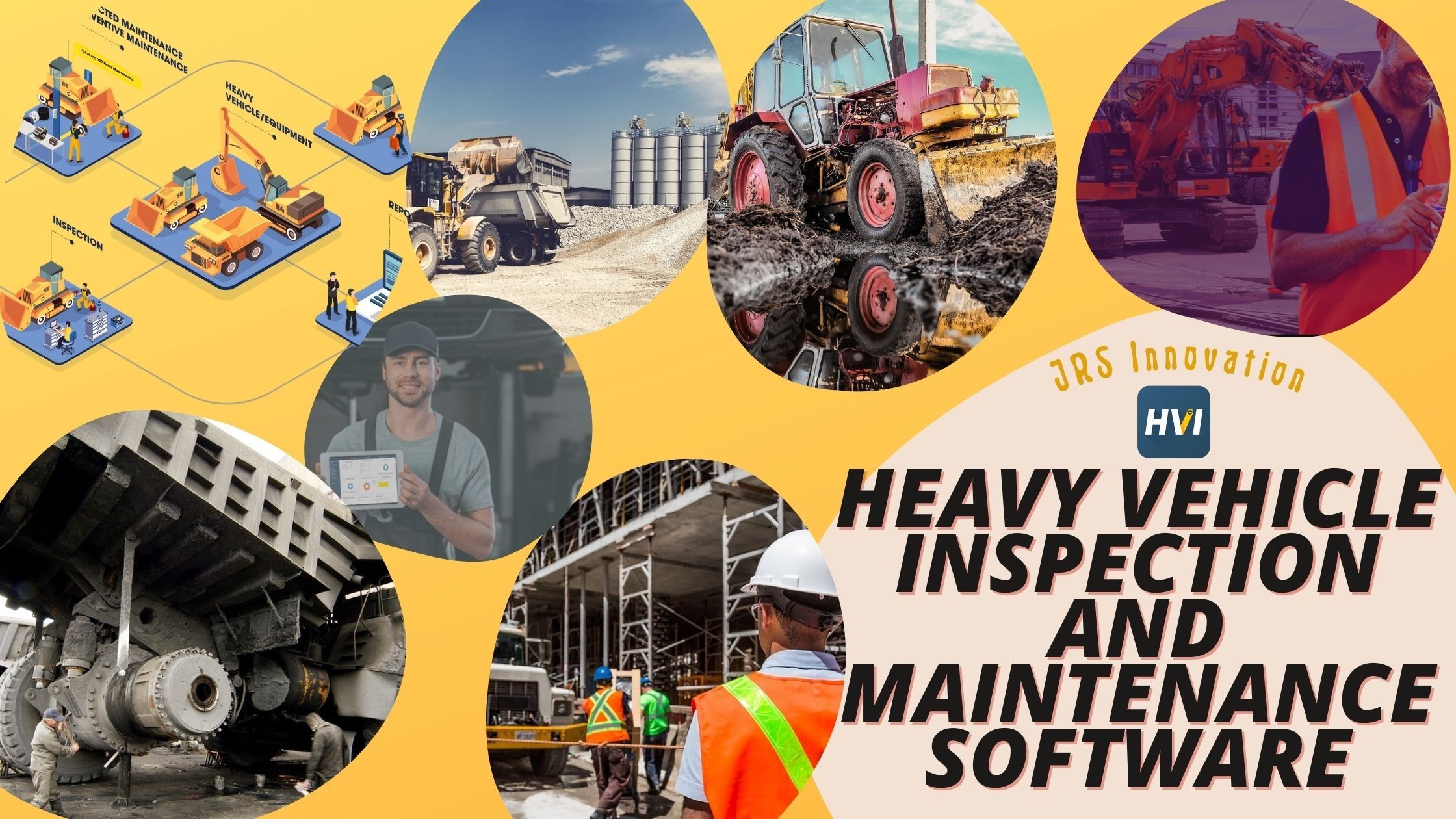 Heavy vehicle inspection and maintenance software