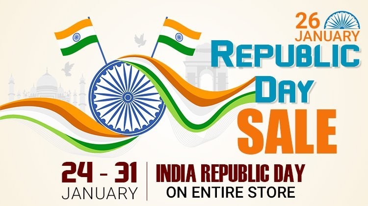 Gemexi Republic Day Sale - 24 to 31 Jan 2020