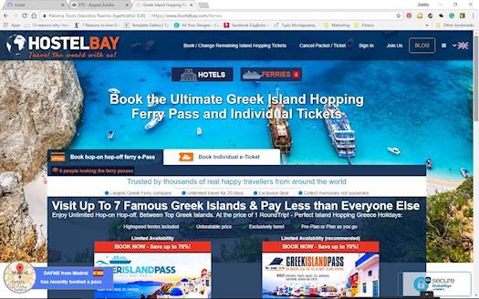 Greek Ferry Ticket Discounts