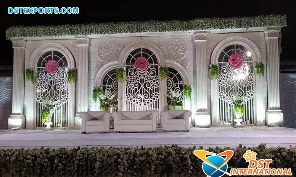 Royal Wedding Indian Haveli Stage