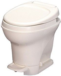 Thetford Aqua Magic V Foot Flush High White RV Toilet