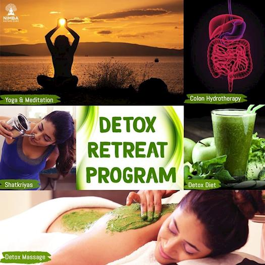 Detox Retreat Program at Nimba Nature Cure Villlage