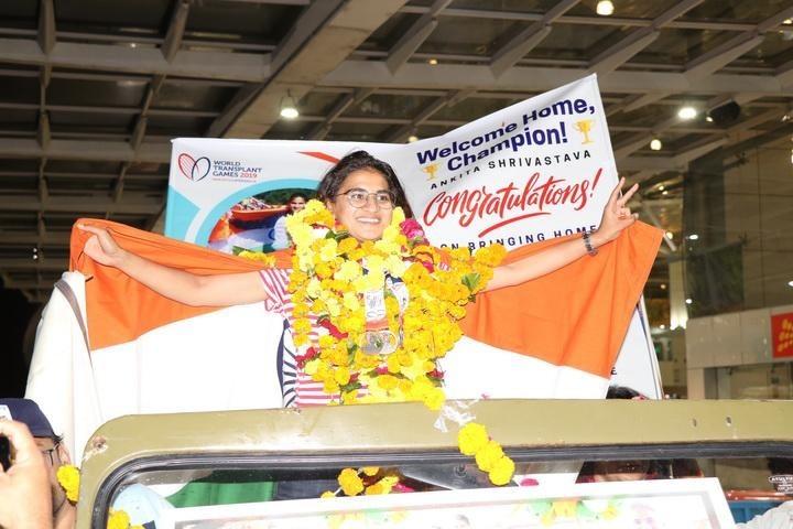 Ankita Shrivastava- liver donor, international athlete, world record holder, tedx speaker