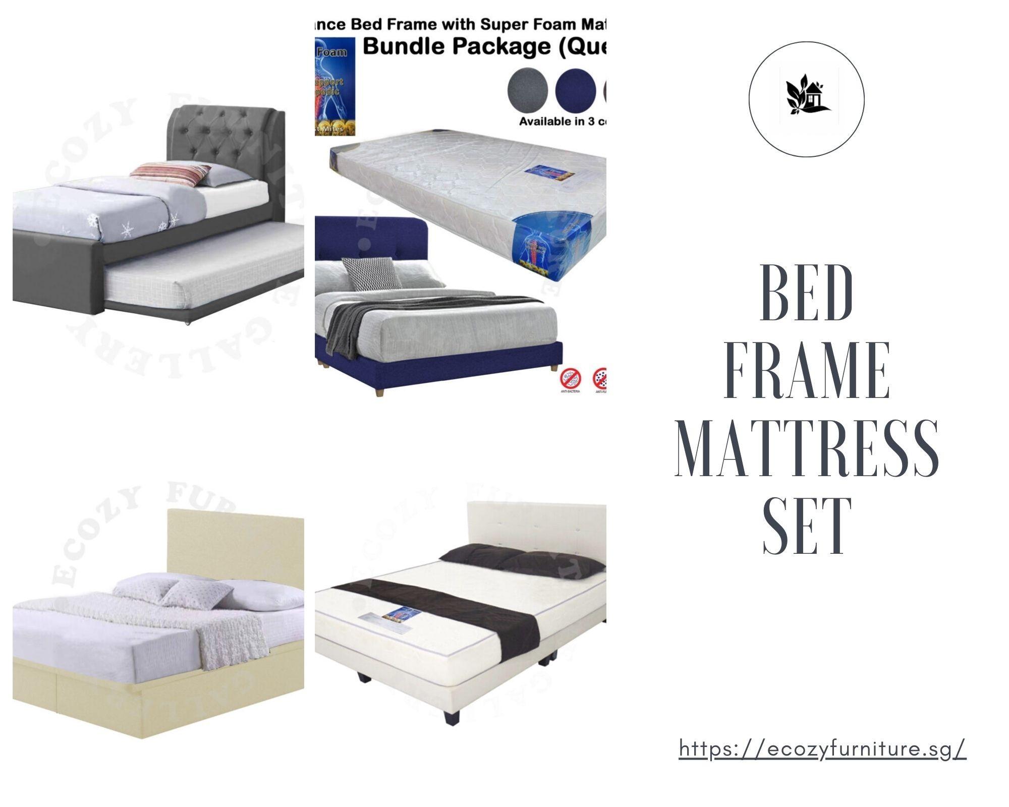 Bed Frame Mattress set