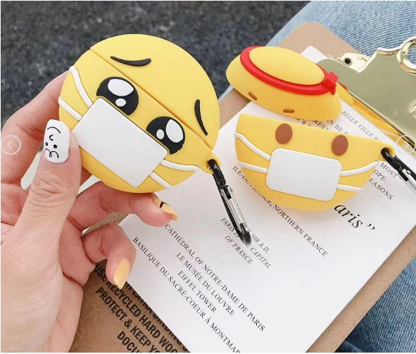 Emojis Face Mask Cases For AirPods - PodJacket™