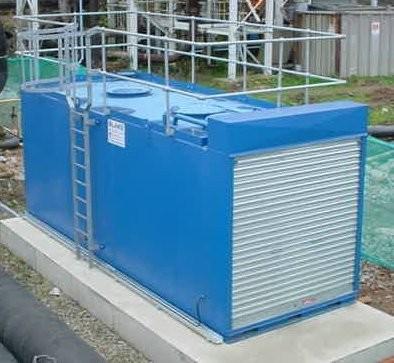 Industrial Fuel Oil Storage Tank