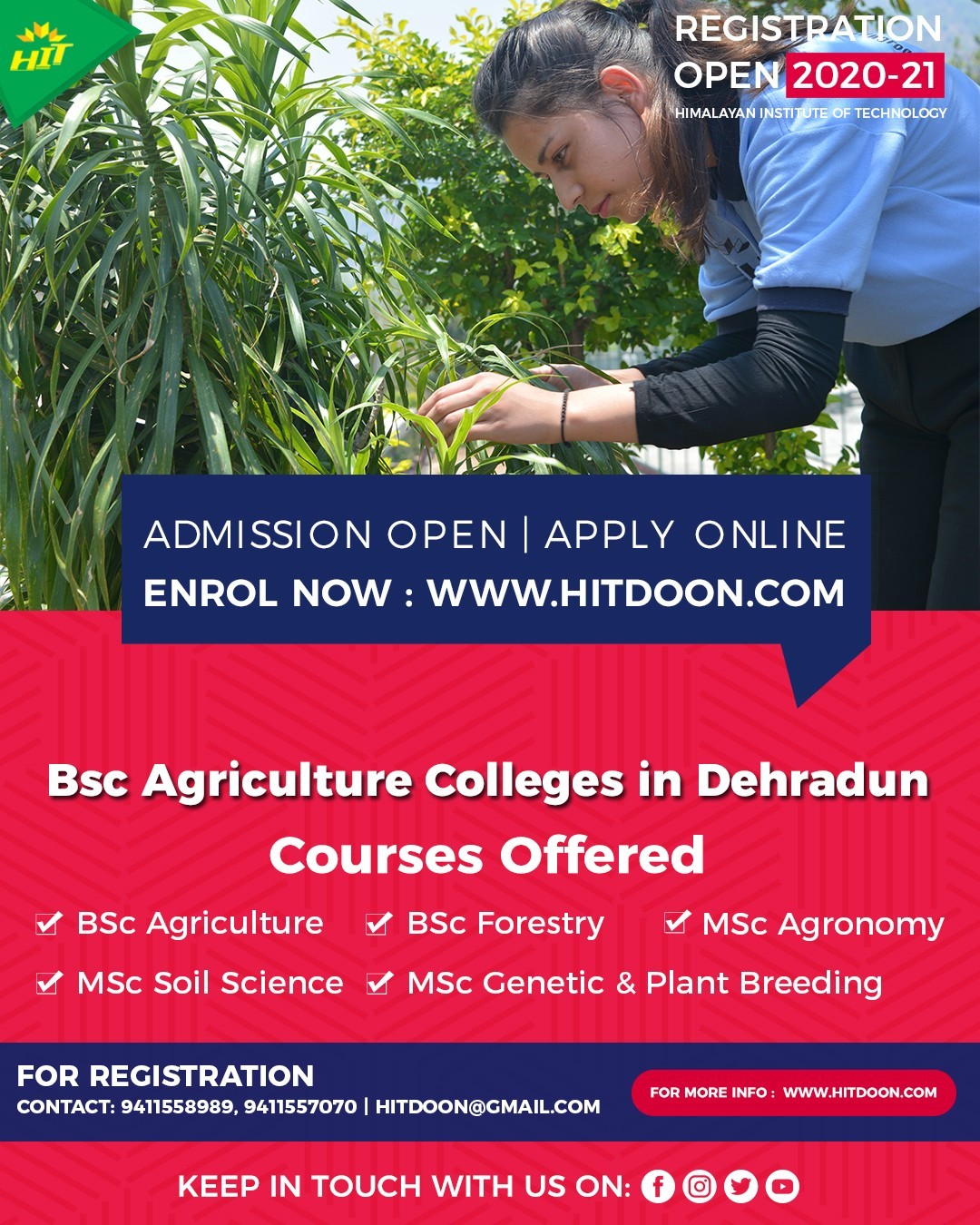 Bsc Agriculture Colleges in Dehradun