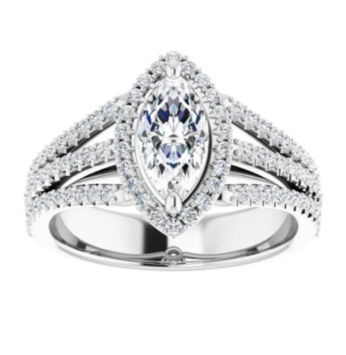 Diamond engagement ring in Denver