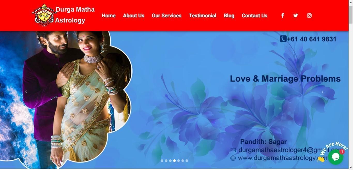 Top Indian Vedic astrologer in Auckland, New Zealand - Durga Matha Astrology: