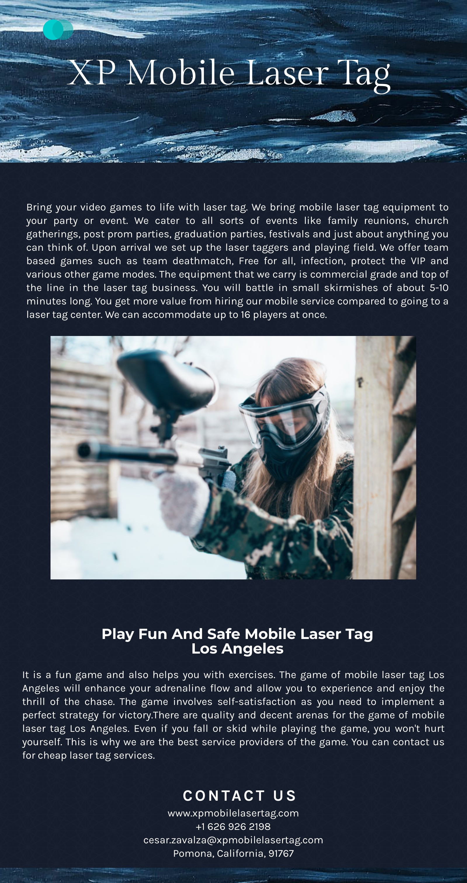 Whether it be your back to school, homecoming or Halloween. Laser Tag San Dimas is the Best Choice: