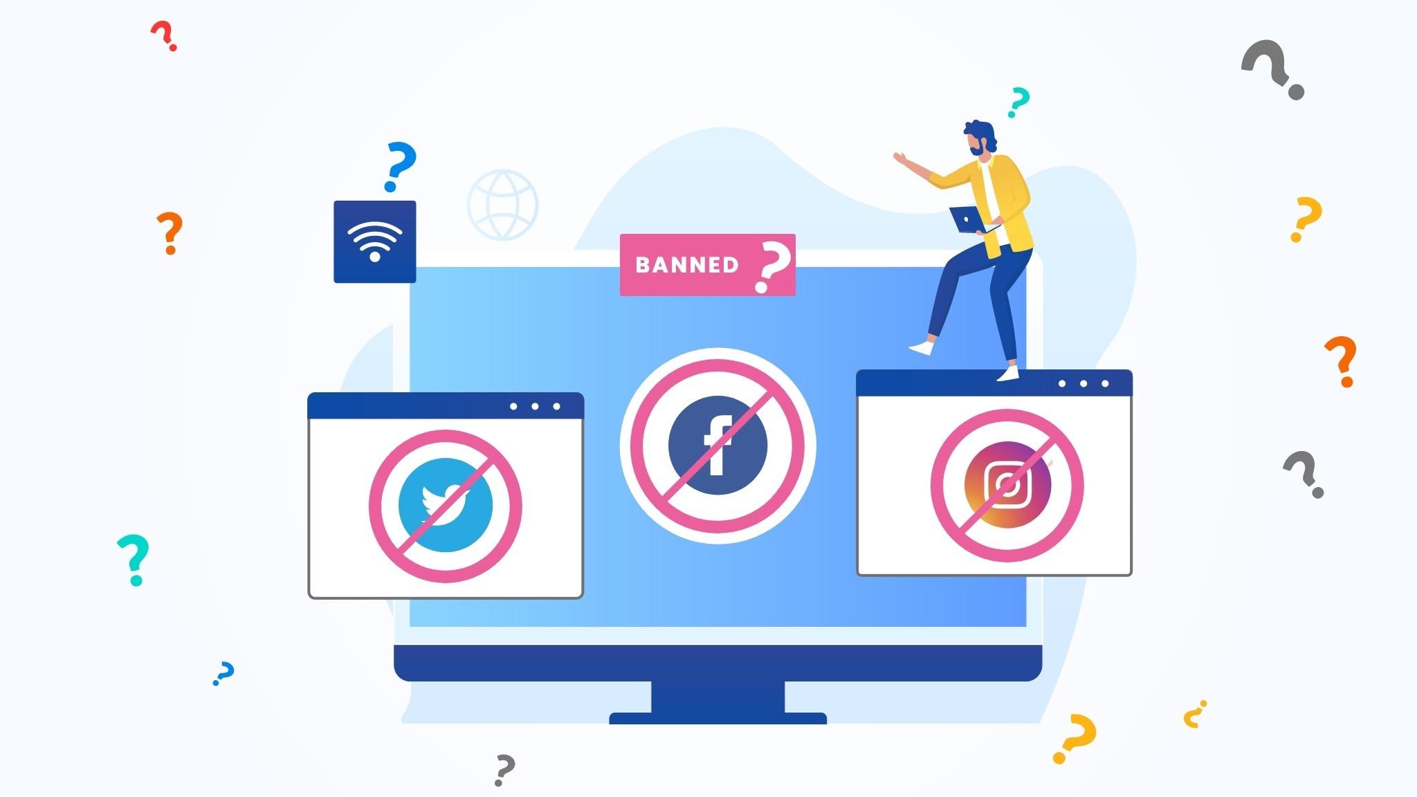 Social Media Apps Ban