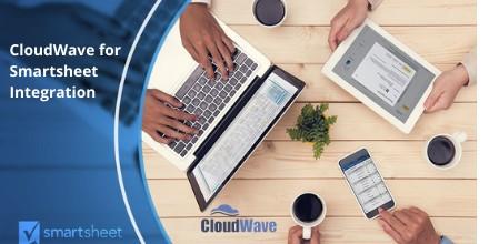 CloudWave Inc through smartsheet integration
