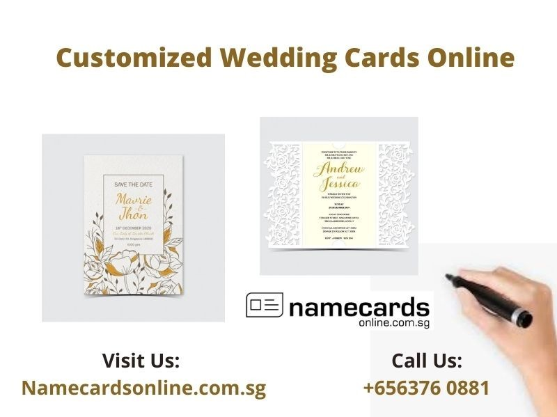 Customized Wedding Cards | Laser Cut Wedding Cards Online in Singapore