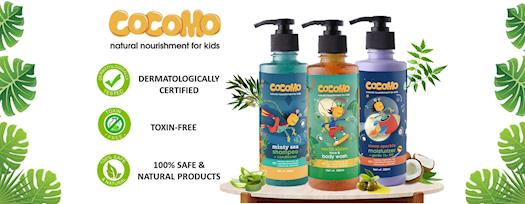 Cocomo natural products for kids
