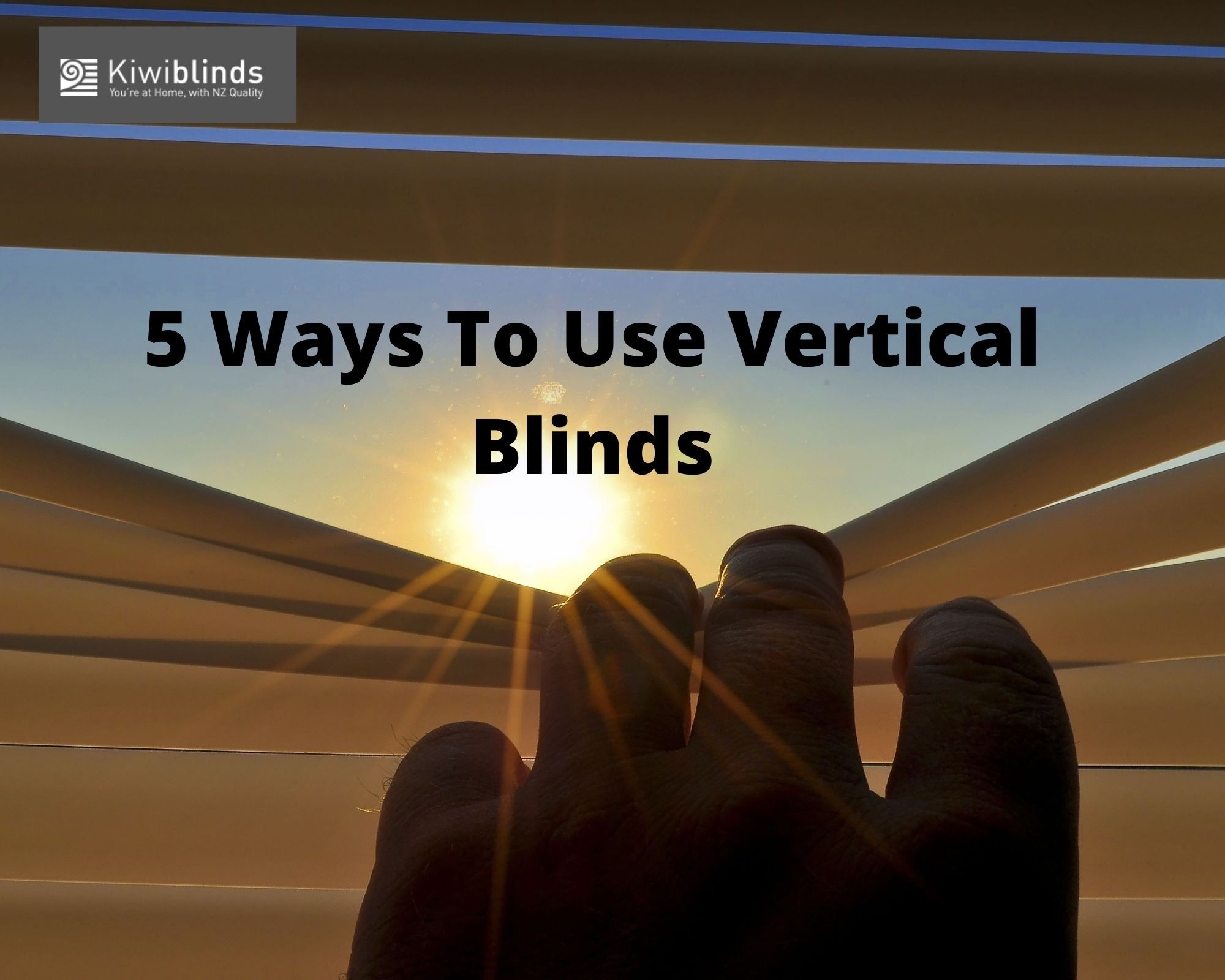 5 Ways To Use Vertical Blinds