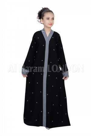 Children Nida Black Abaya
