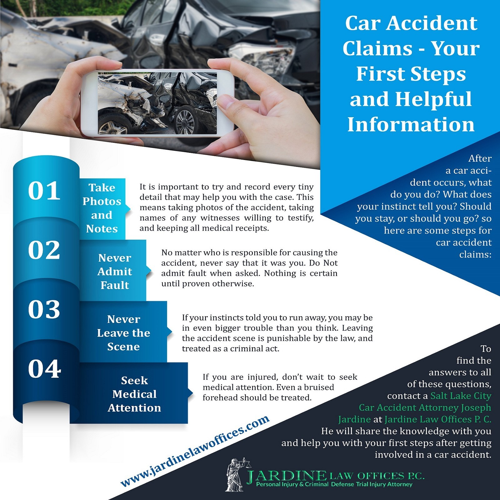 Car Accident Claims - Your First Steps and Helpful Information