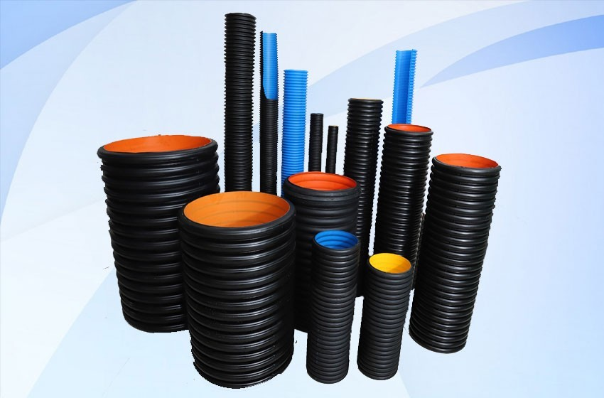 DWC pipe for cable ducts