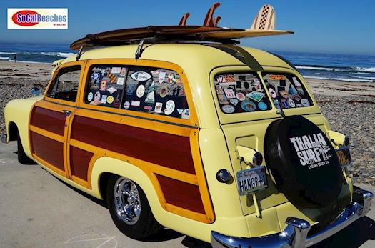 1950 Ford Woody Classic Car