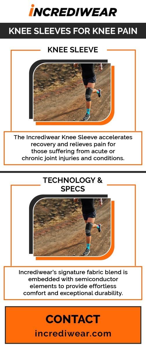 Knee sleeves for knee pain