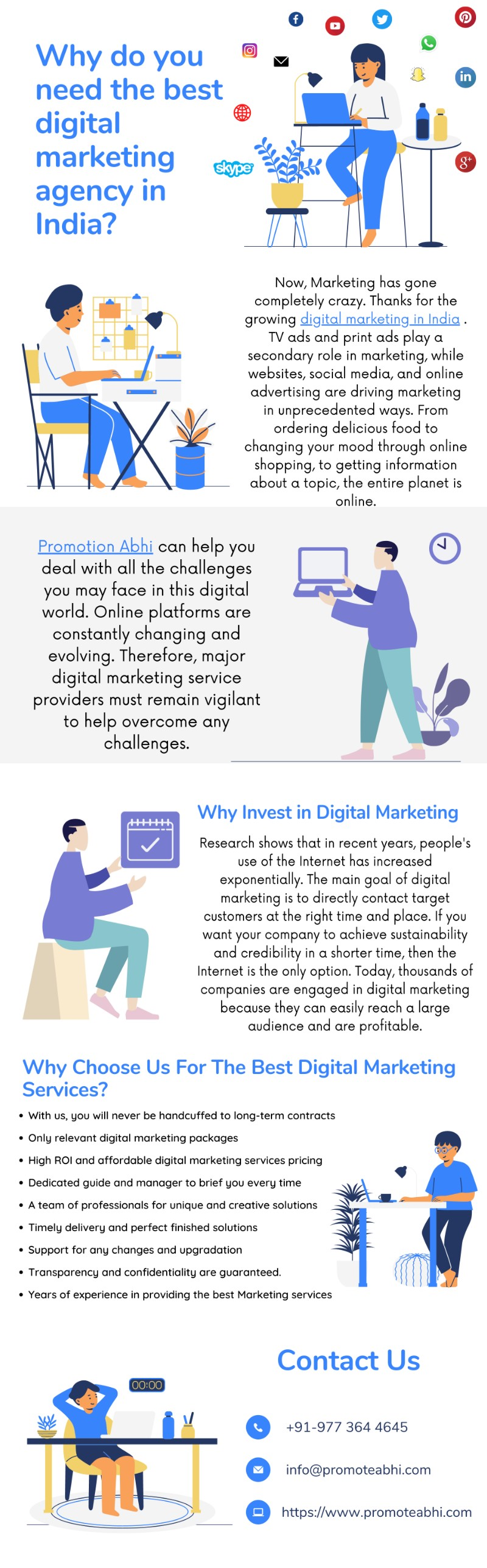Why do you need the best digital marketing agency in India?