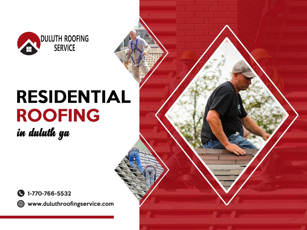 Residential Roofing in Duluth | Duluth roofing Service