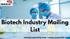 Biotech Industry Mailing List
