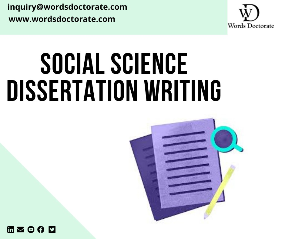 Social Science Dissertation Writing