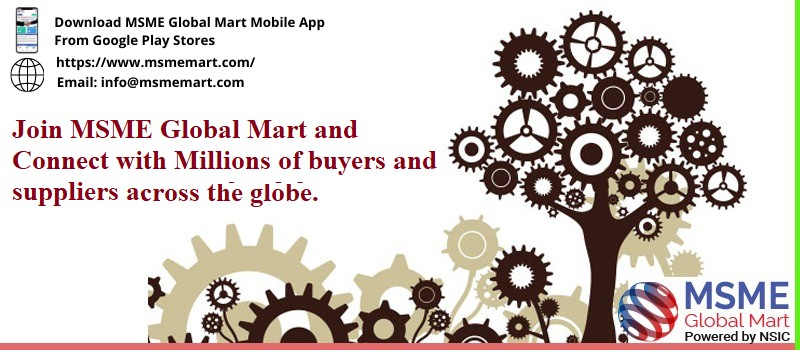 Join MSME Global Mart and Connect with Millions of buyers and suppliers
