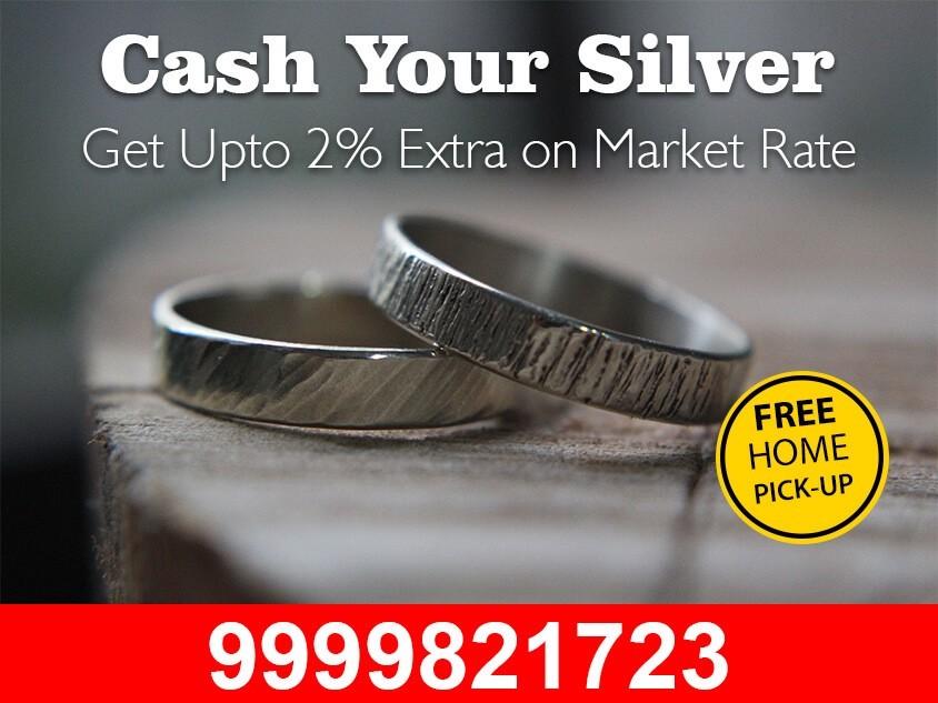 Cash For Silver In Delhi NCR