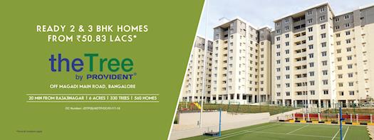 2 & 3 BHK Flats in Magadi Road | The Tree By Provident |  Luxury Apartments in Magadi Road