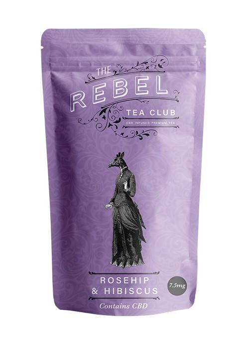 Elderberry, Rosehip & Hibiscus CBD Tea