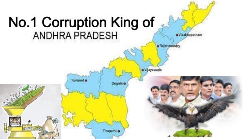 No.1 Corruption King of Andhra Pradesh