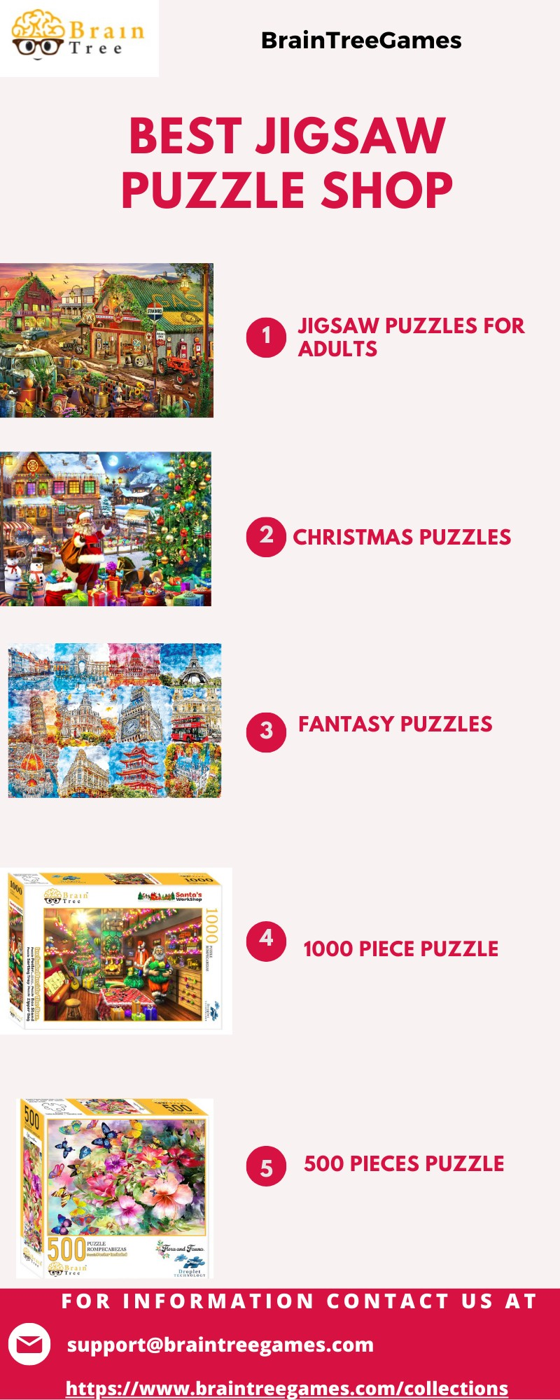 Top Jigsaw Puzzle Store in America