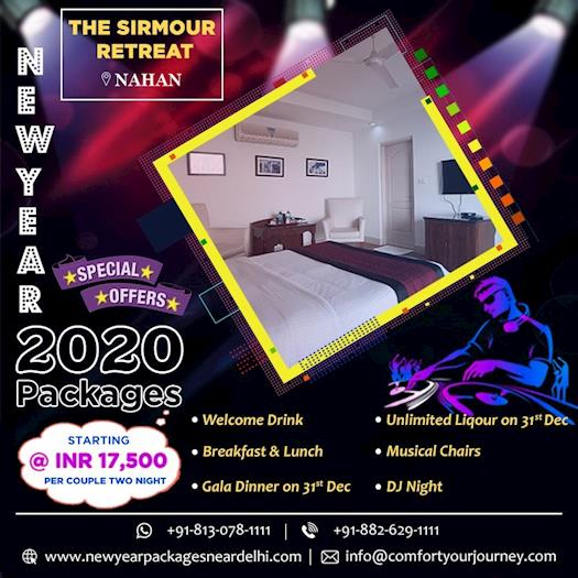 New Year Packages 2020 near Delhi