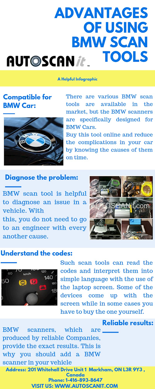 Advantages of Using BMW Scan tools