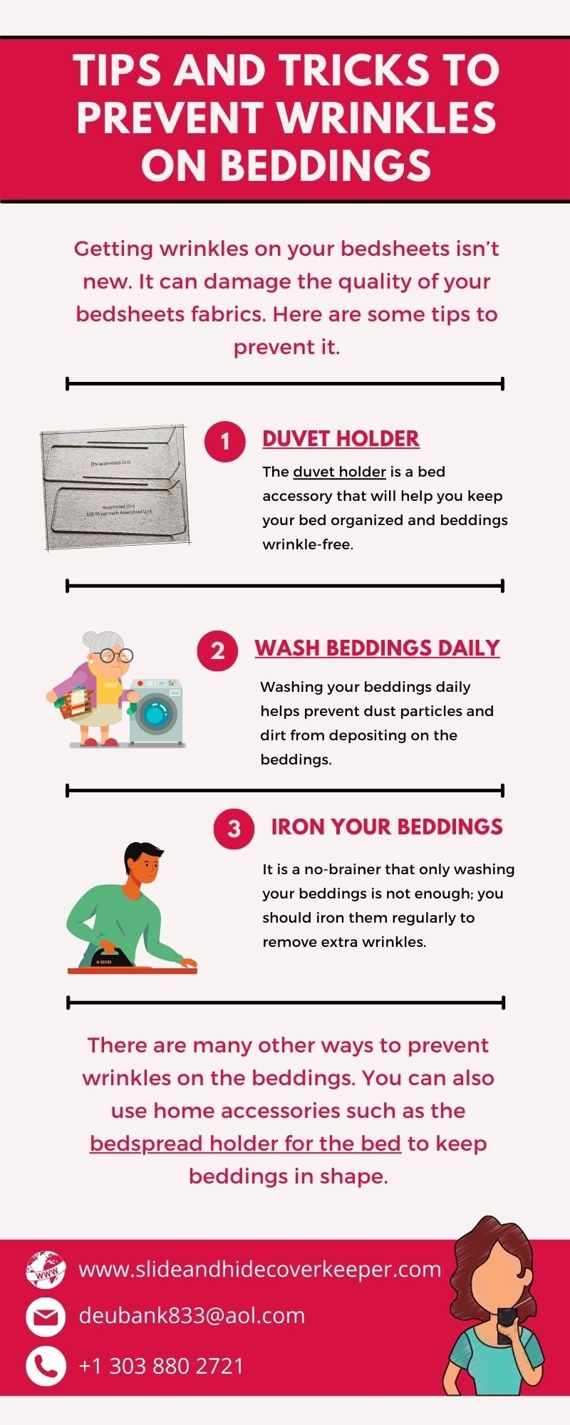Tips and Tricks to Prevent Wrinkles on Beddings