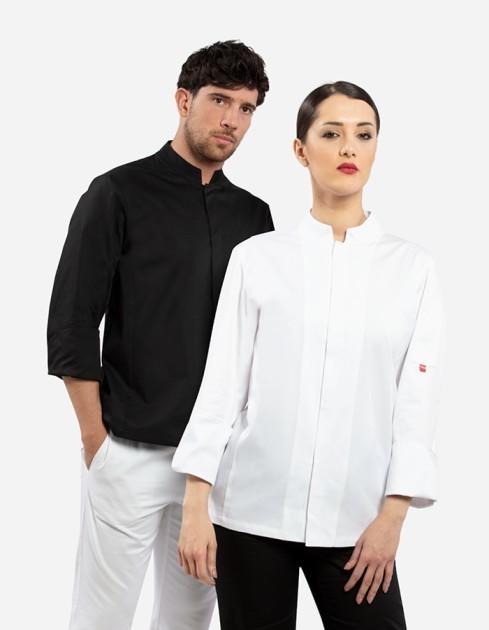 Zugo giacca cuoco unisex collo coreana