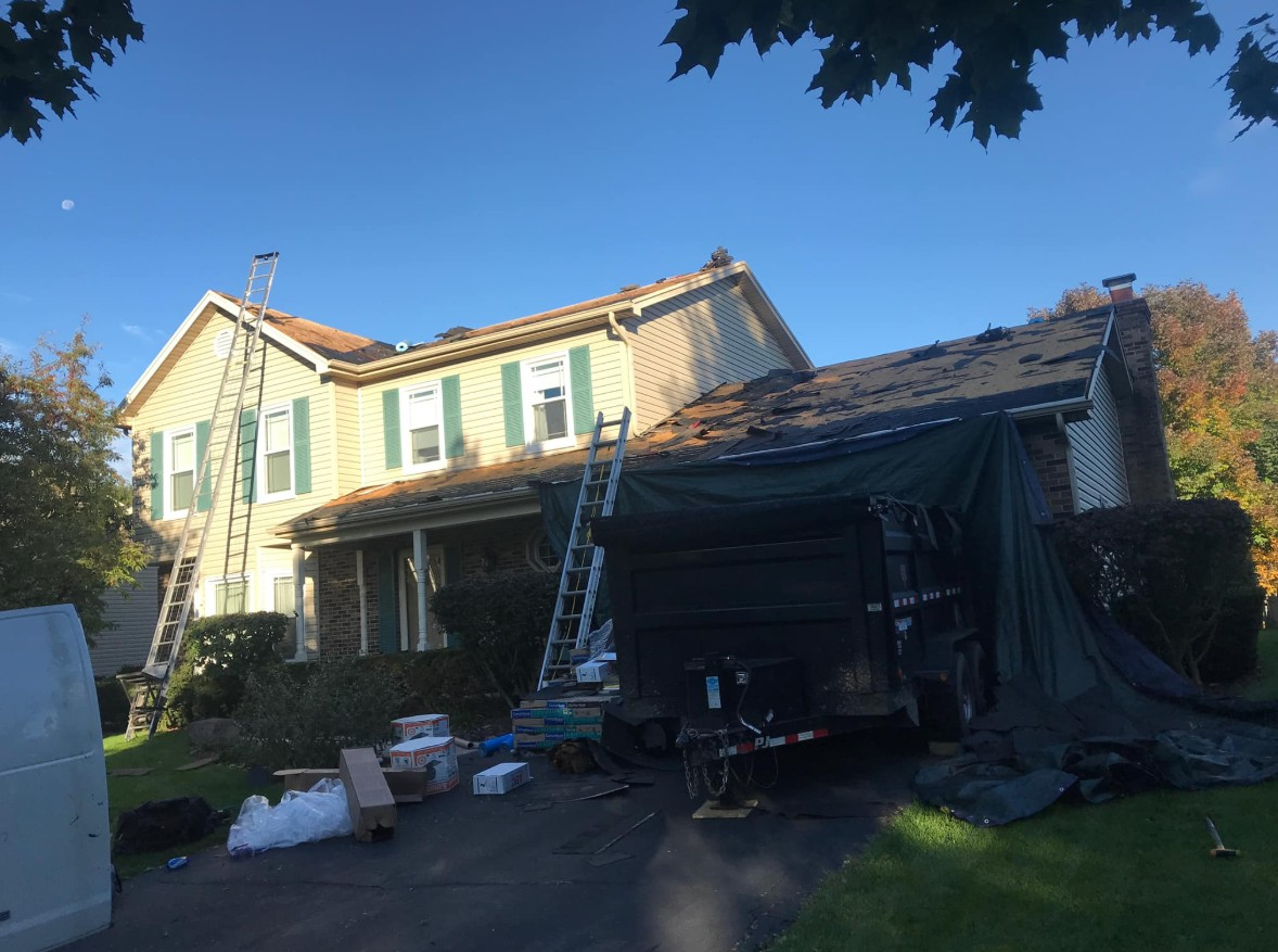 Roof Replacement Roscoe IL - Martin Exteriors