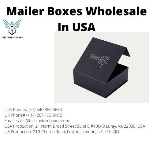 Mailer Boxes Wholesale In USA