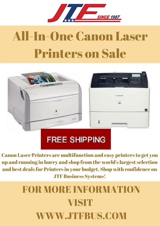 All-In-One Canon Laser Printers on Sale