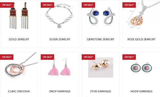 Find the newest styles affordable fashion jewelry with affordable prices