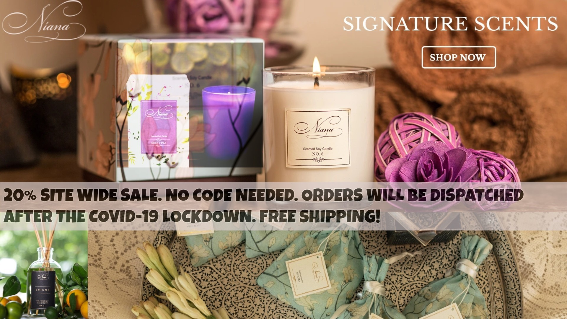 Niana Candles: Buy Scented Candles Online India