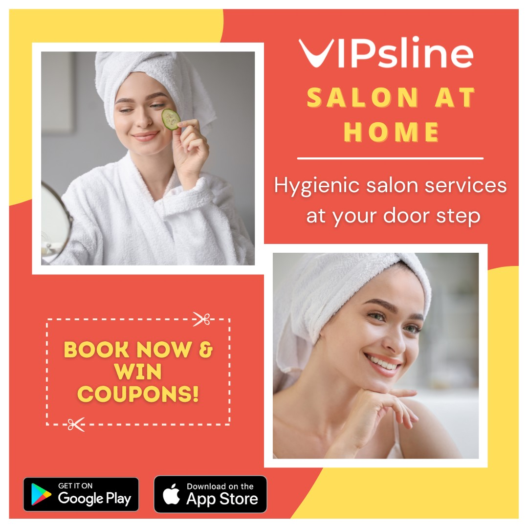 Online Salon Booking in Chennai | Salon Booking at Home | Vipsline
