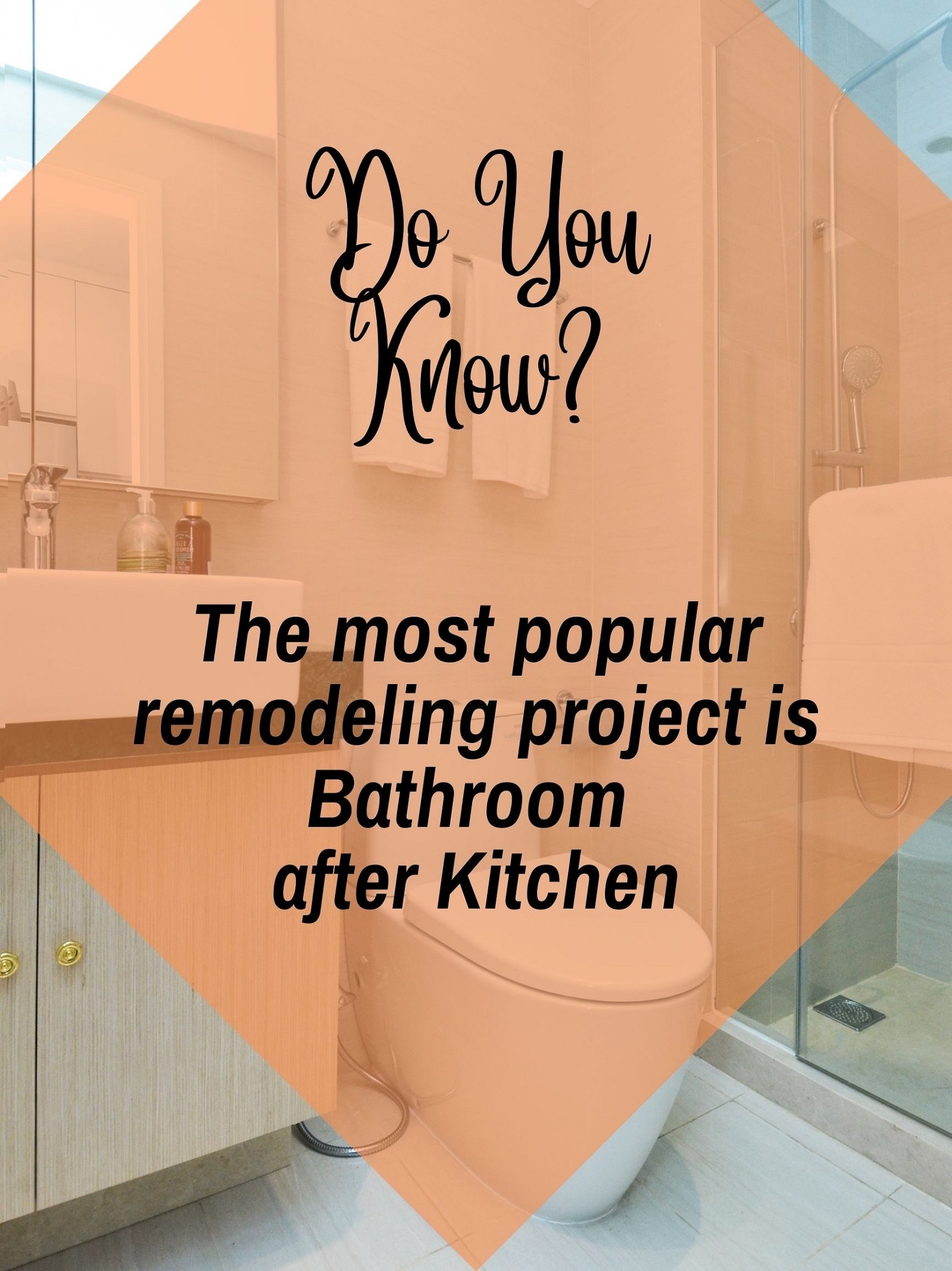 Do you know which is the most popular remodeling project?