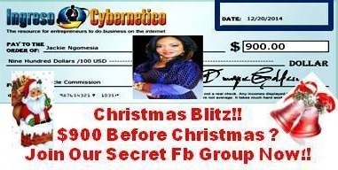 Everyone Gets $900 for Christmas! We are Still Taking New Members
