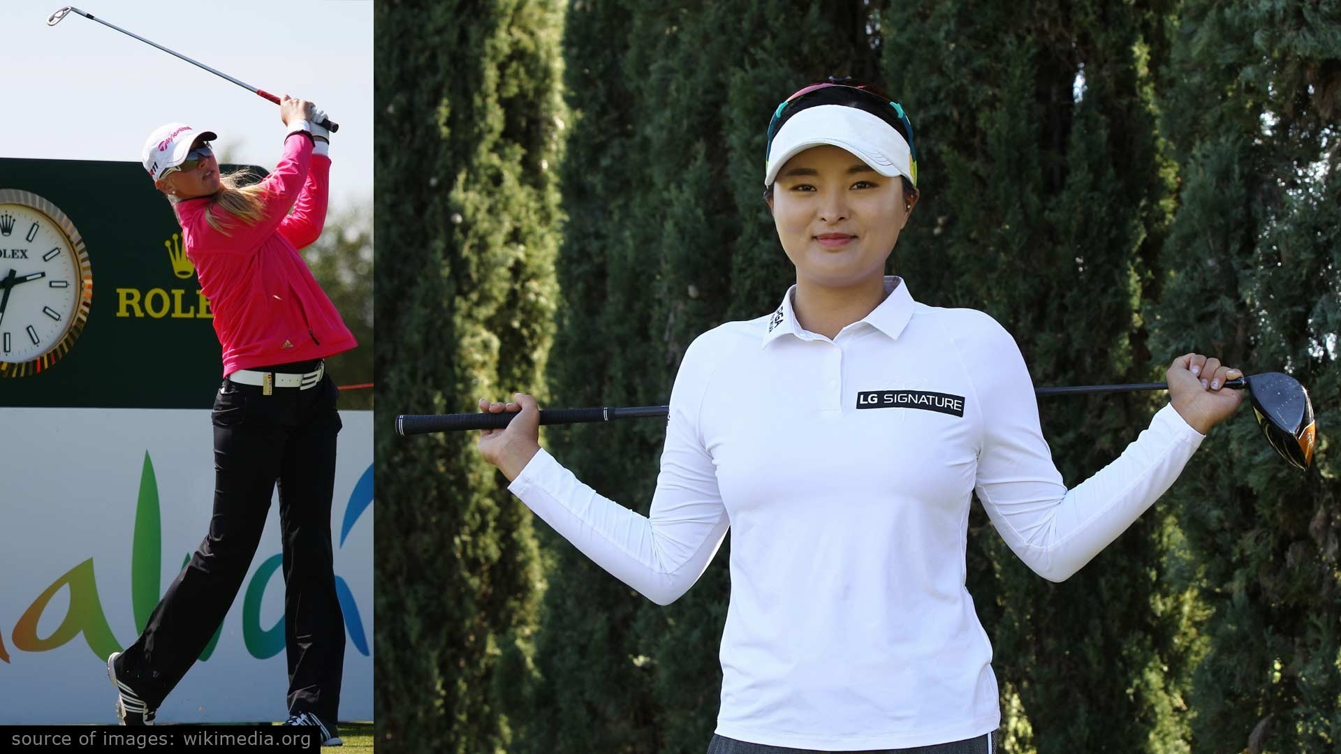 Tallest Female Golfers